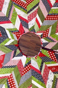 Weihnachtsbaum-Teppich